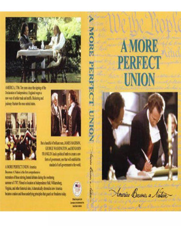 A More Perfect Union DVD