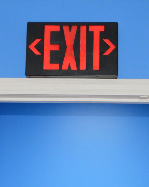 BBWifi Exit Sign