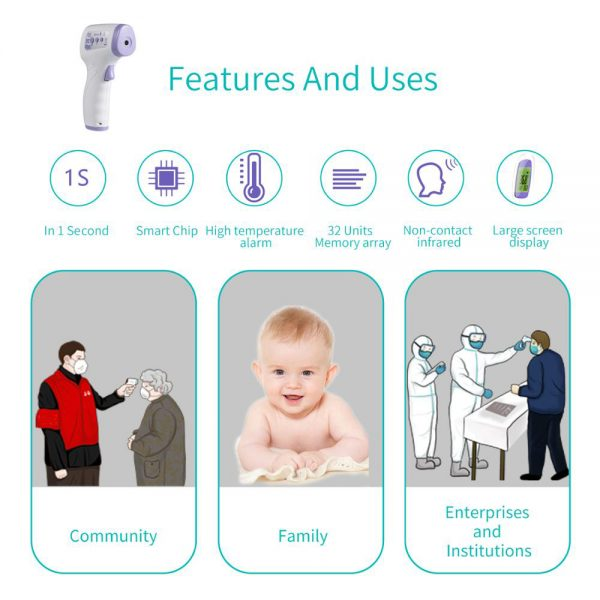 Family Safe Hand Thermometer